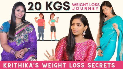 Krithika Annamalai's 20 Kgs Weight Loss Journey  | Diet & Workout Secrets Revealed | Say Swag