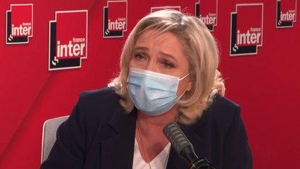 """""""Seule une participation massive peut me permettre d'être élue. Tout le monde souffre de l'abstention, il y a eu une super prime aux sortants"""" (Marine Le Pen)"""