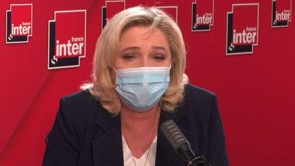 """Sur Eric Zemmour : """"Que les choses soient dites : être éditorialiste, et se comporter comme un candidat à la présidentielle, ce n'est pas loyal."""" (Marine Le Pen)"""