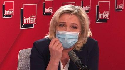"""""""Je suis réservée sur le vote obligatoire"""" (Marine Le Pen)"""