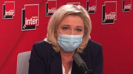 """réforme"""" sur l'assurance-chômage : """"Elle est absolument cynique"""" (Marine Le Pen)"""