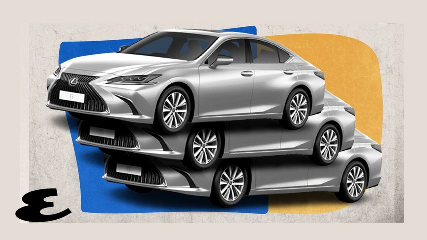 The Lexus ES is an Elegant Ride