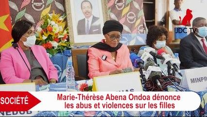 Marie-Thérèse Abena Ondoa dénonce les abus et violences sur les filles