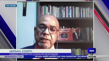 Entrevista a Gersan Joseph, candidato a decano de la facultad de economía  - Nex Noticias