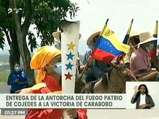 Margaud Godoy: El pueblo de Cojedes reafirma el compromiso de unidad y lucha de Simón Bolívar