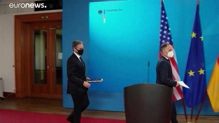Visite du chef de la diplomatie américaine à Berlin