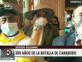 Aloha Núñez: 200 años después de Carabobo, hemos llegado invictos con la fuerza de Bolívar y Chávez