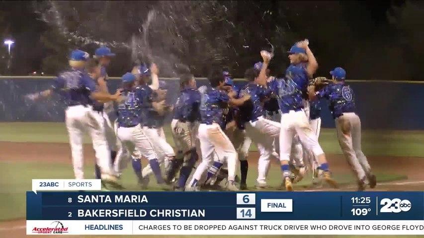 BCHS baseball wins valley championship 14-6 in comeback effort over Santa Maria