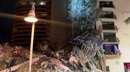 Miami, crolla un palazzo in zona residenziale: si temono molte vittime (24.06.21)
