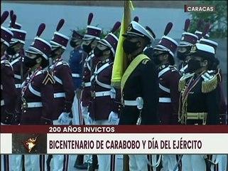 Padrino López: Rendimos tributo al héroe de Carabobo, Simón Bolívar que nos dejó una patria libre