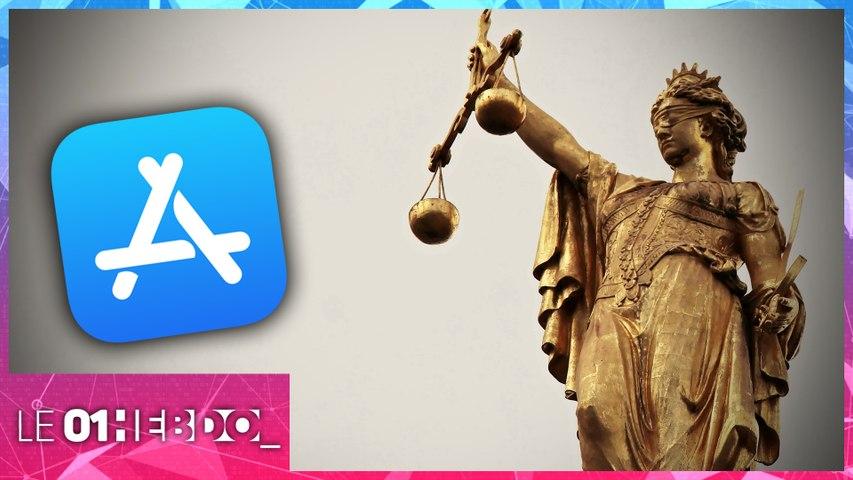 01Hebdo #317 : Apple ne veut pas de concurrence pour l'App Store