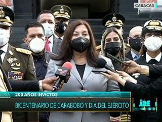 Carmen Meléndez: En nuestros hombros está mantener nuestra patria libre, soberana e independiente