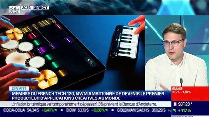 Jean-Baptiste Hironde (MWM) : MWM ambitionne de devenir le premier producteur d'applications créatives au monde - 24/06