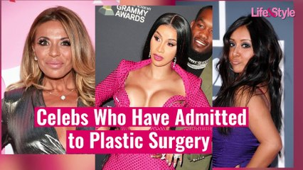 Celebs Who Have Admitted to Plastic Surgery