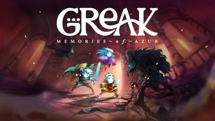 Greak : Memories of Azur - Trailer date de sortie