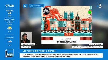 25/06/2021 - La matinale de France Bleu Loire Océan