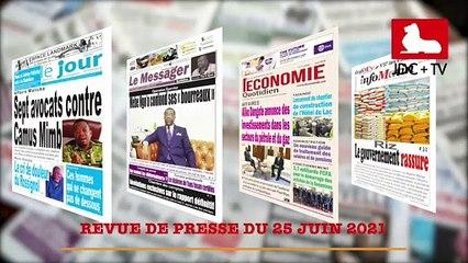 REVUE DE PRESSE CAMEROUNAISE DU 25 JUIN 2021