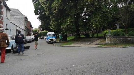 Tournage Les Petits Meurtres d'Agatha Christie à Tournai