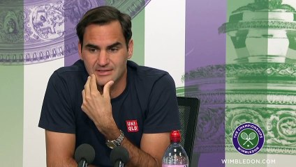 """Wimbledon 2021 - Roger Federer : """"I'm pumped up, anything is possible"""""""