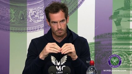 """Wimbledon 2021 - Andy Murray : """"I'm happy (...) If physically it holds I think I can do something right"""""""