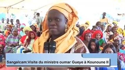 En visite à Kounoune 2: Les Populations déroulent  le tapis rouge au Ministre Oumar Guèye
