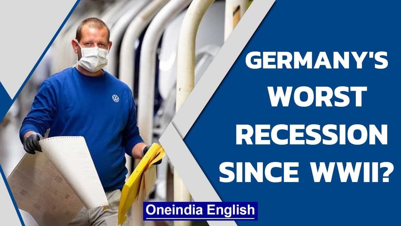 Germany faces Recession: The Coronavirus Recession Explained | Oneindia News