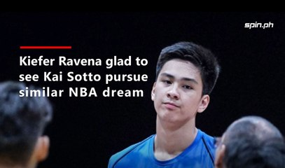Kiefer Ravena glad to see Kai Sotto pursue similar NBA dream
