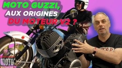 Moto Guzzi, aux origines du moteur V2 - Un Apéro avec Moto Magazine