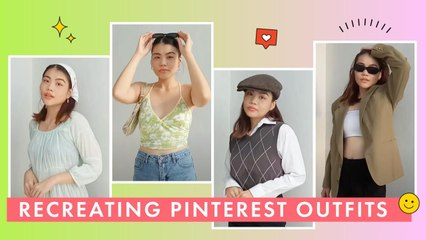 Recreating Pinterest Outfits (TRENDY!)