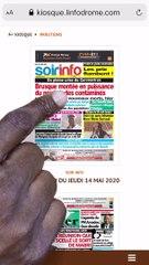 COMMENT ACHETER VOTRE JOURNAL  EN LIGNE SUR LE KIOSQUE LINFODROME MOOV