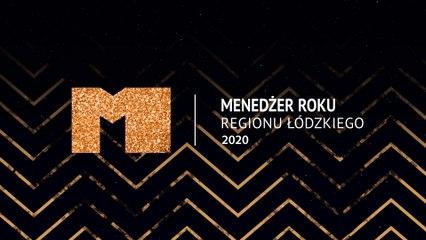 Menedżer Roku Regionu Łódzkiego 2020 gala wręczenia nagród
