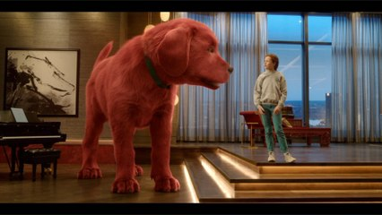 Jack Whitehall, Darby Camp, John Cleese In 'Clifford the Big Red Dog' New Trailer