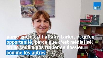 Laurence Chopart, avocate de la fille de Franck Lavier