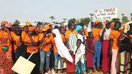 Le Président Macky Sall accueilli en grande pompe à Thiés