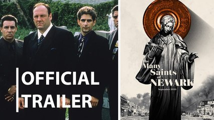 The Many Saints of Newark Trailer 10/01/2021 Prequel to The Sopranos.