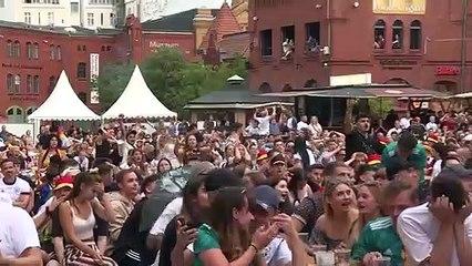 Deutschland fliegt aus der EM: Enttäuschte Fans in Berlin
