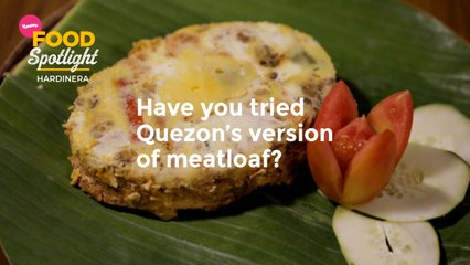 Have You Tried Quezon's Version of Meatloaf   Yummy PH