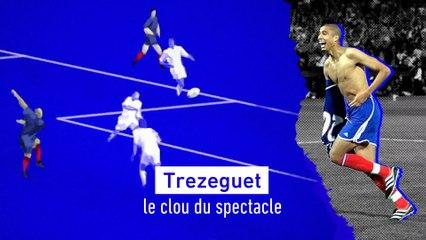 Foot - Euro - Les buts de légende  (5/5) : Trezeguet, le clou du spectacle