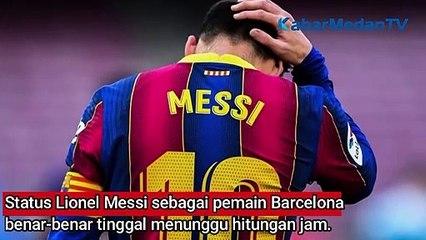 Kontrak Lionel Messi di Barca Habis, Bertahan atau Hengkang?