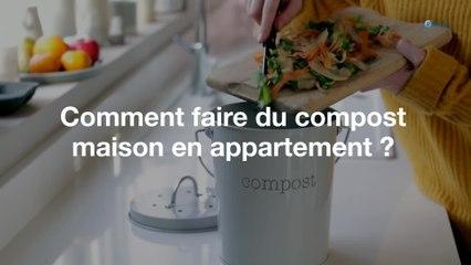 Comment faire du compost maison en appartement ?