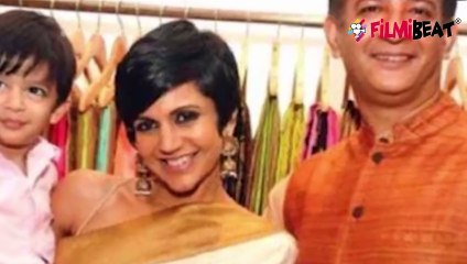 Mandira Bedi पति Raj Kaushal के जाने के बाद Ronit Roy के गले लग कर रोई; video  FilmiBeat