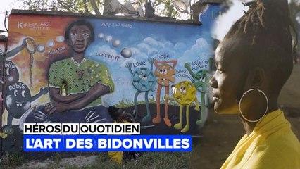 Héros du quotidien : l'art dans le bidonville