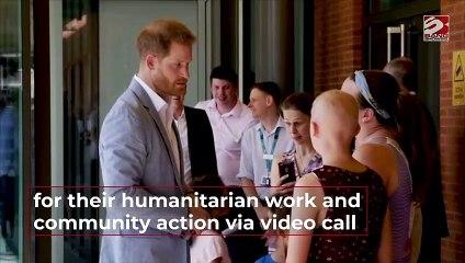 Prince Harry praises Diana Award honours