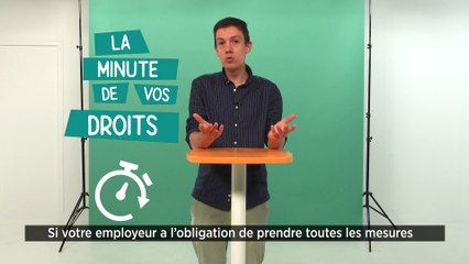La minute de vos droits : Suis-je concerné par l'obligation du pass sanitaire en tant que salarié travaillant en contact avec du public ?