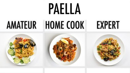 4 Levels of Paella: Amateur to Food Scientist