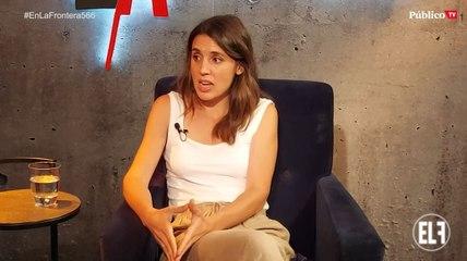 """Irene Montero: """"El acuerdo al que hemos llegado después de todo el debate da cuenta de la fortaleza de la coalición"""""""