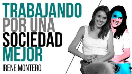 Trabajando por una sociedad mejor - Entrevista a Irene Montero - En la  Frontera, 30 de junio de 2021