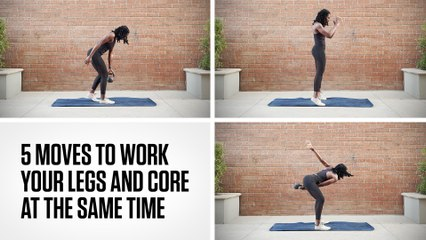 5 Moves to Work Your Legs and Core at the Same Time