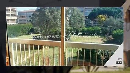 Vente appartement 2 pièces Sainte-Maxime résidence avec pisc