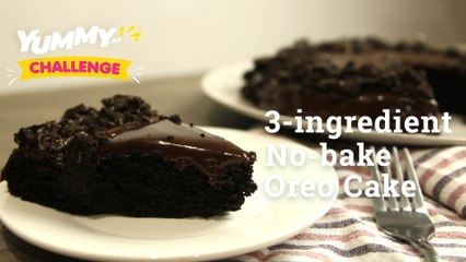 3-ingredient No-bake Oreo Cake   Yummy PH
